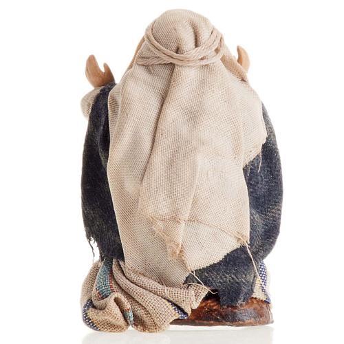 Arabo meravigliato 8 cm presepe napoletano 3