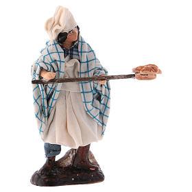 Neapolitan Nativity figurine, Pizza maker 8cm s1