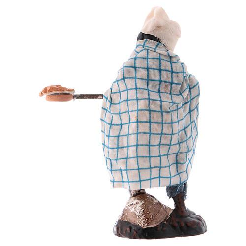 Neapolitan Nativity figurine, Pizza maker 8cm 2