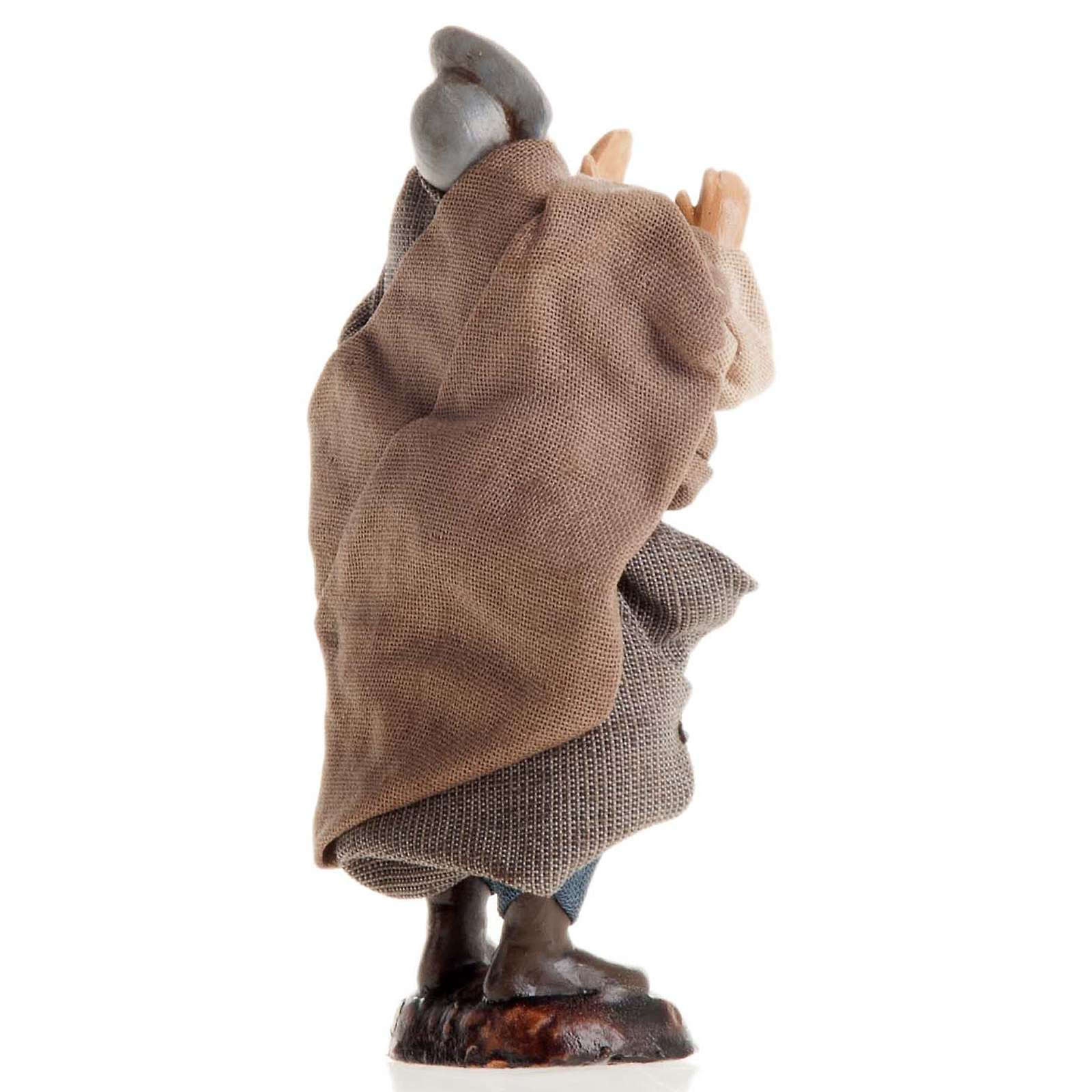 Hombre que grita 8 cm. belén napolitano 4