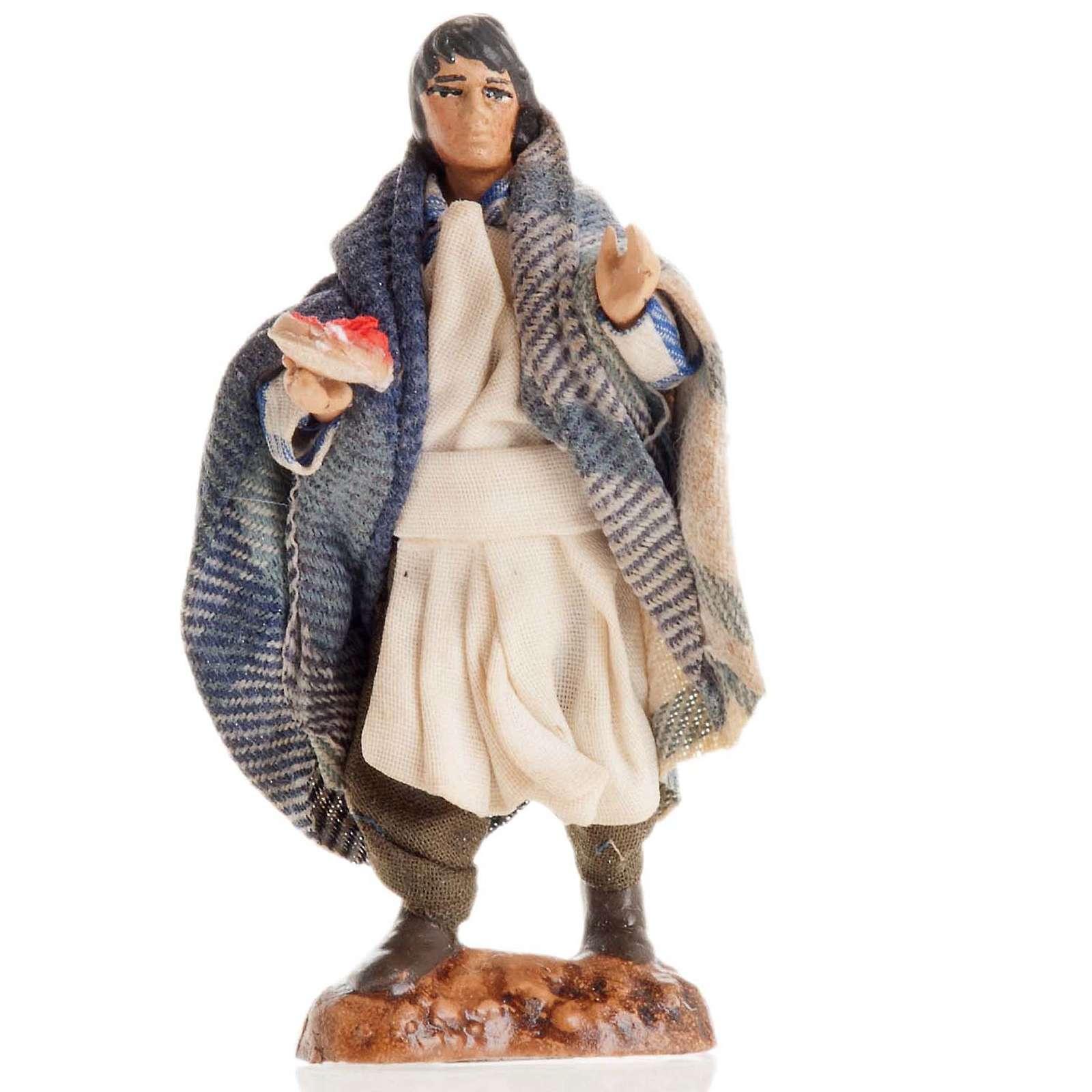 Neapolitan Nativity figurine, Waiter 8cm 4