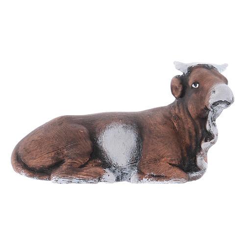 Buey y burro 8 cm. belén napolitano 3
