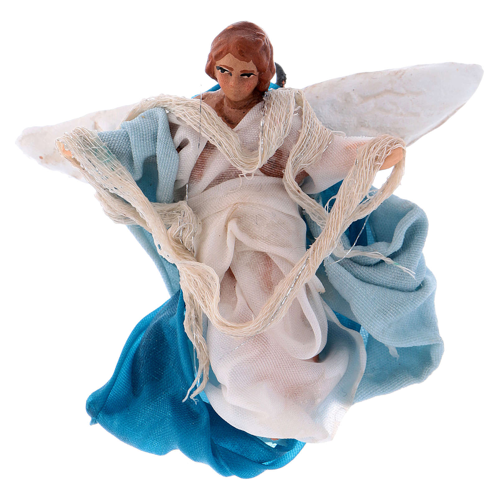 Neapolitan Nativity figurine, Angel 8cm 4