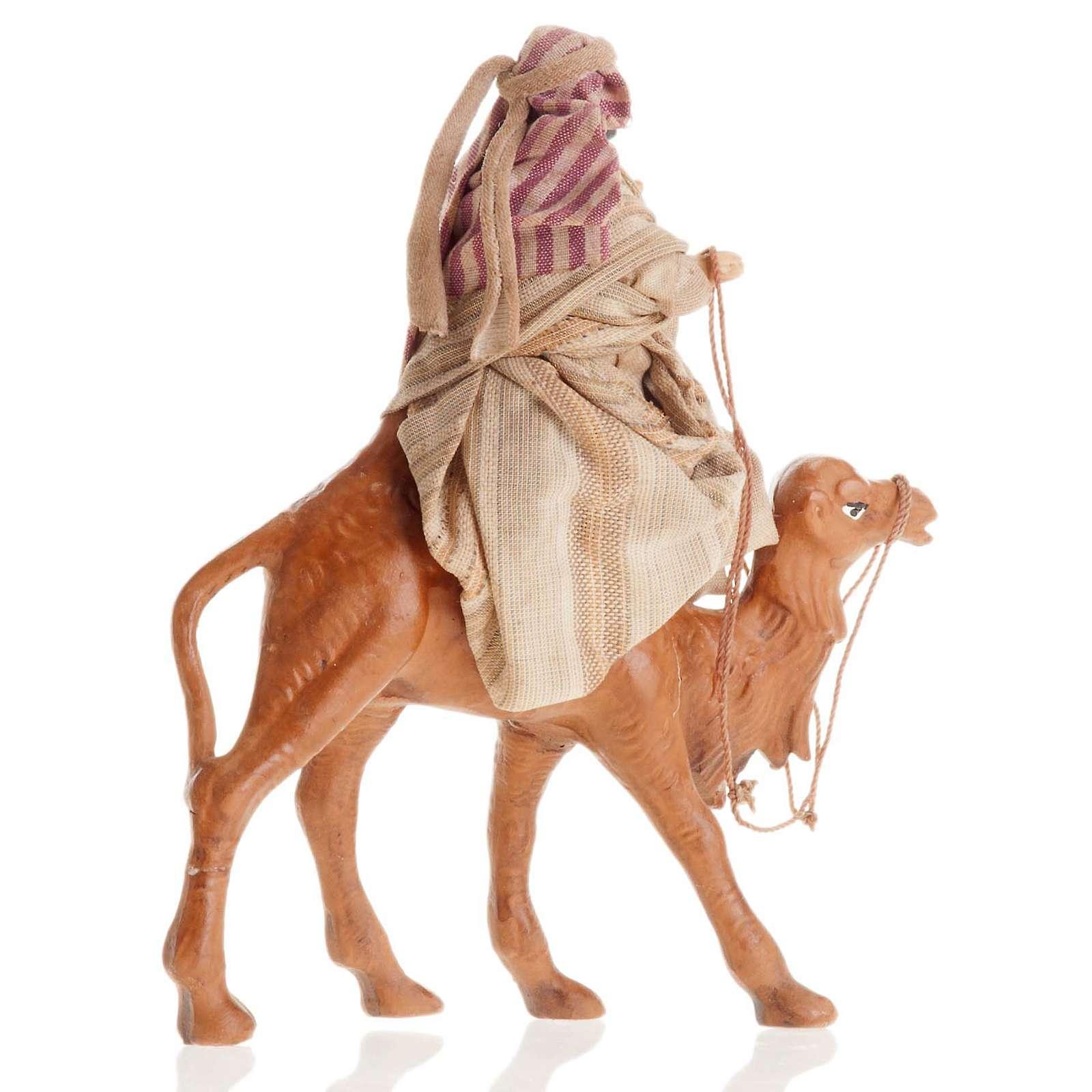 Árabe con camello 8 cm. belén napolitano 4