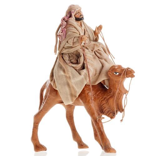 Árabe con camello 8 cm. belén napolitano 1