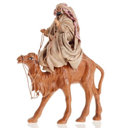 Árabe con camello 8 cm. belén napolitano 2