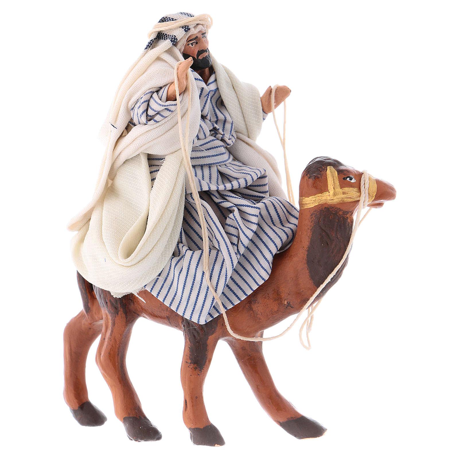 Arabo su cammello 8 cm presepe Napoli 4