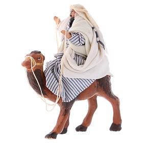 Arabo su cammello 8 cm presepe Napoli s2