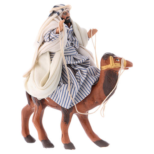 Arabo su cammello 8 cm presepe Napoli 1