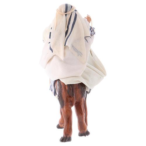Arabo su cammello 8 cm presepe Napoli 3