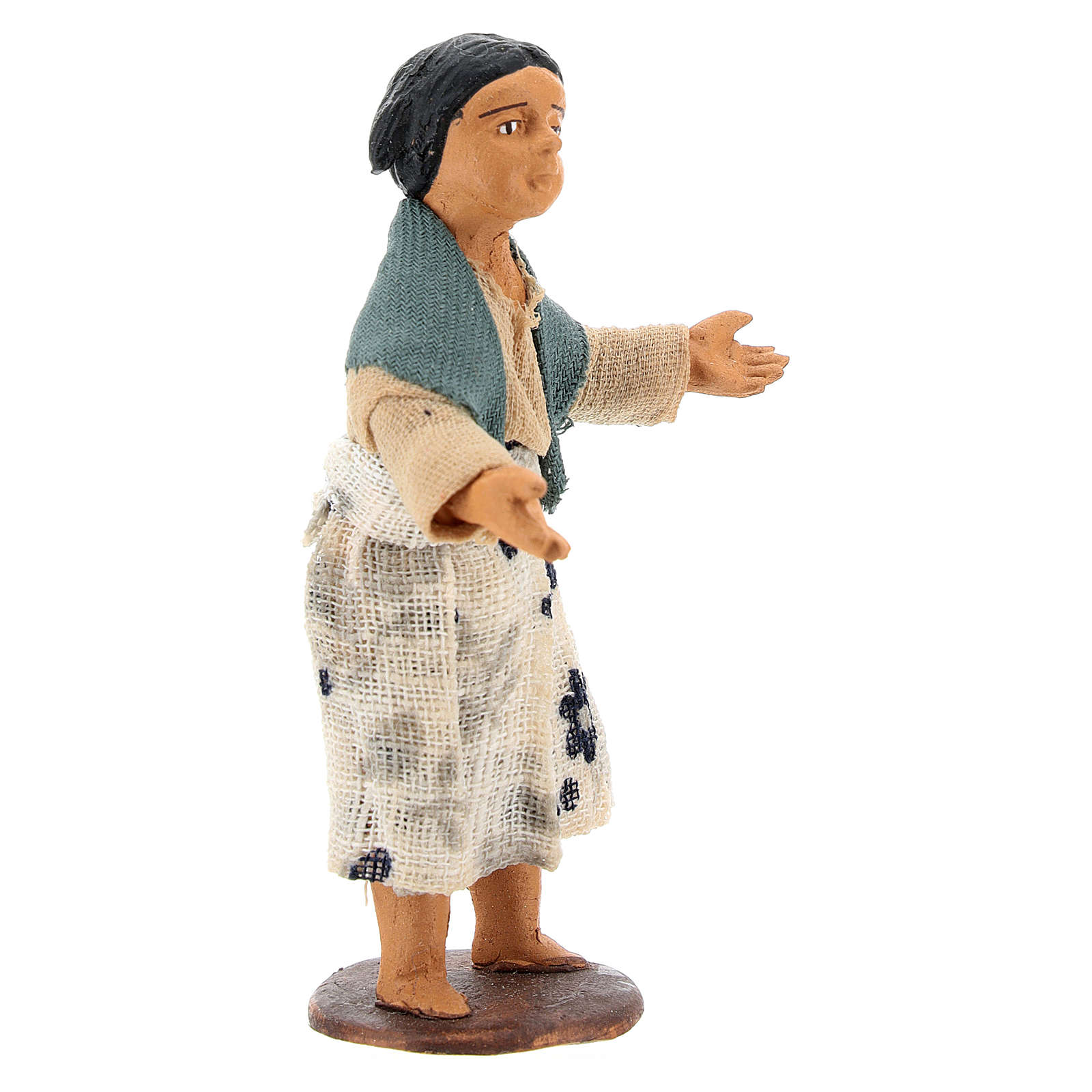 Nativity figurine little girl 14 cm 4