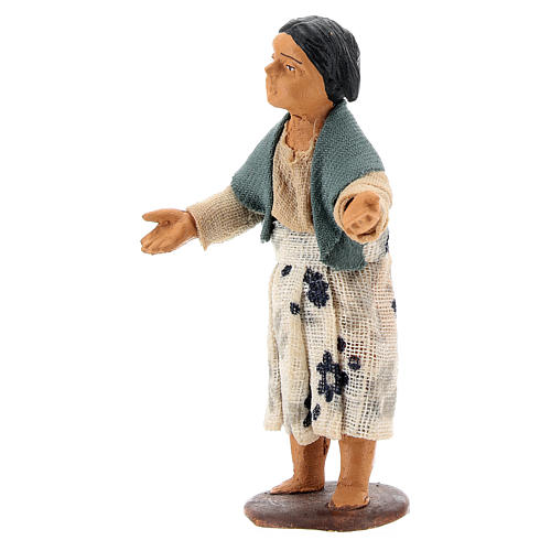 Nativity figurine little girl 14 cm 2
