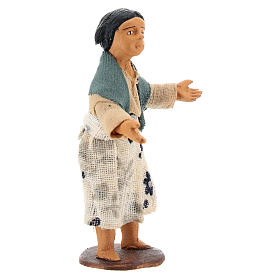 Nativity figurine little girl 14 cm s3