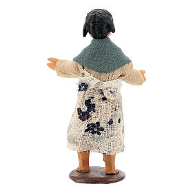 Nativity figurine little girl 14 cm s4