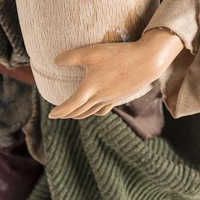 Neapolitan Nativity figurine, man with cask, 30cm s4