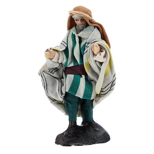 Neapolitan Nativity figurine, Arabian seller, 8 cm 1