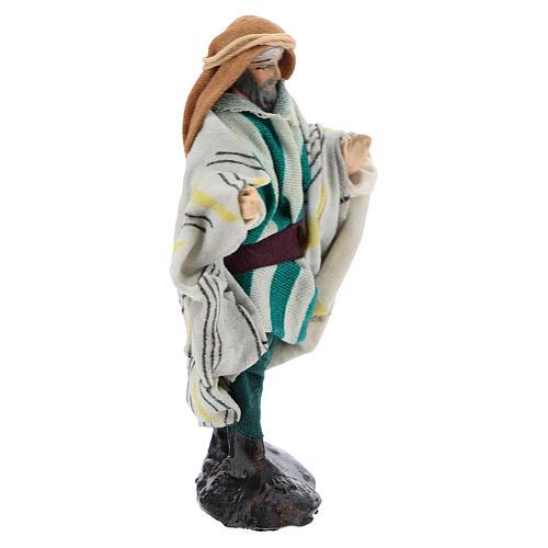 Neapolitan Nativity figurine, Arabian seller, 8 cm 3