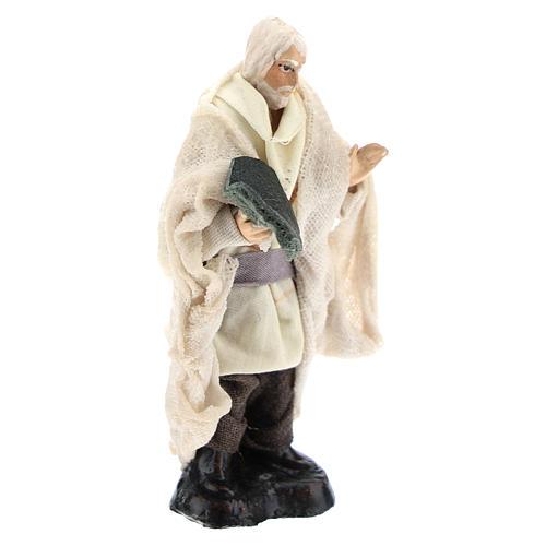 Neapolitan Nativity figurine, Beggar, 8 cm 3