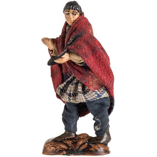 Neapolitan Nativity figurine, Beggar, 8 cm 2