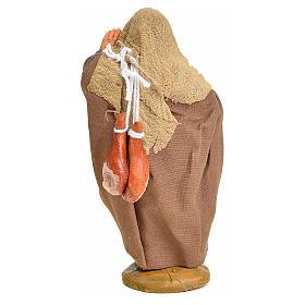 Venditore con sacchi addosso 10 cm presepe napoletano s3