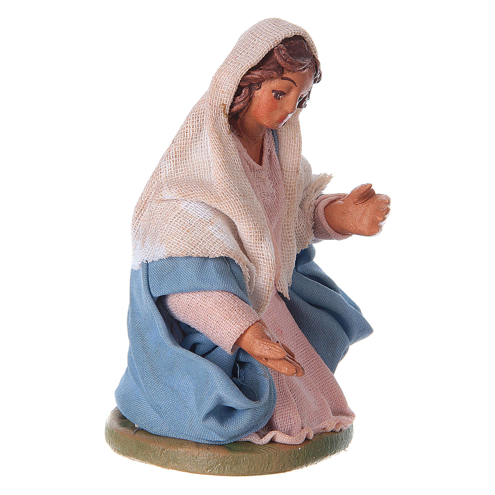 Neapolitan Nativity figurine, Virgin Mary, 10 cm 4