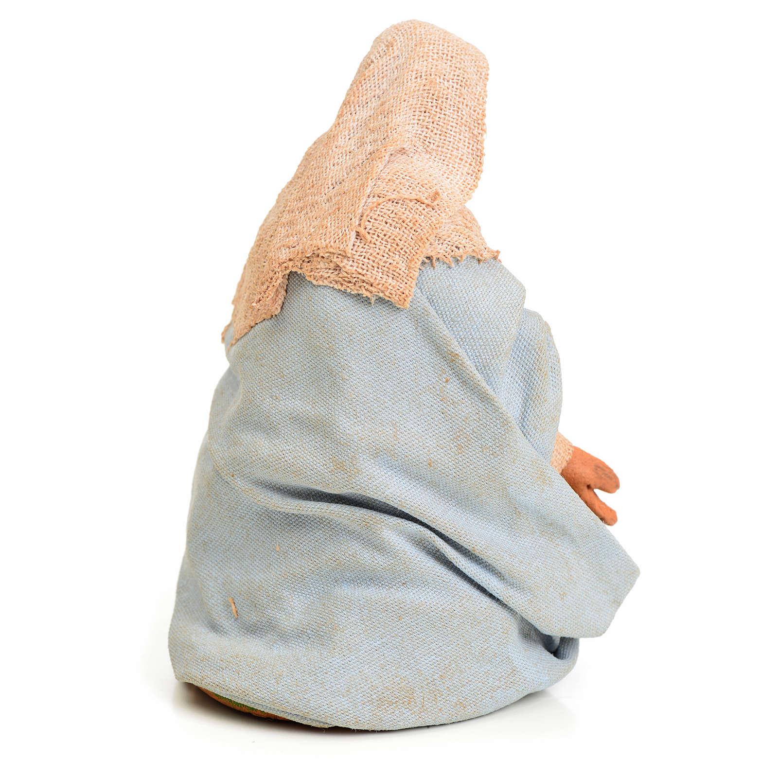 Vierge Marie crèche Napolitaine 10 cm 4