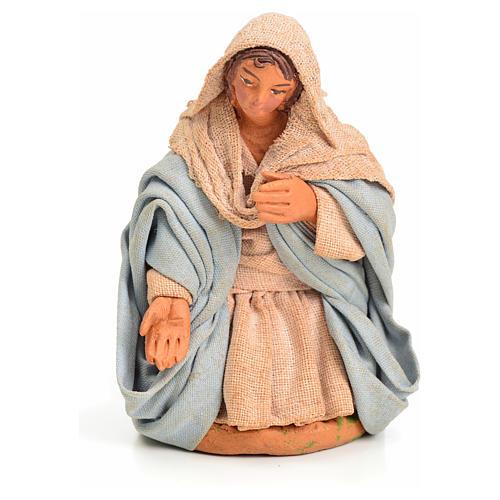 Vierge Marie crèche Napolitaine 10 cm 10