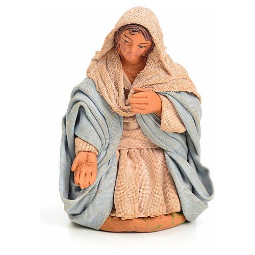 Vierge Marie crèche Napolitaine 10 cm 1