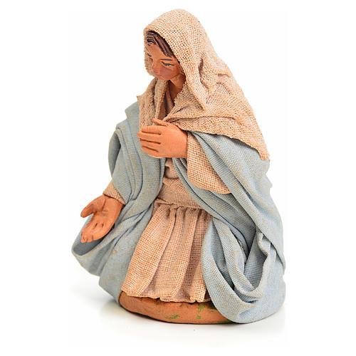 Vierge Marie crèche Napolitaine 10 cm 2