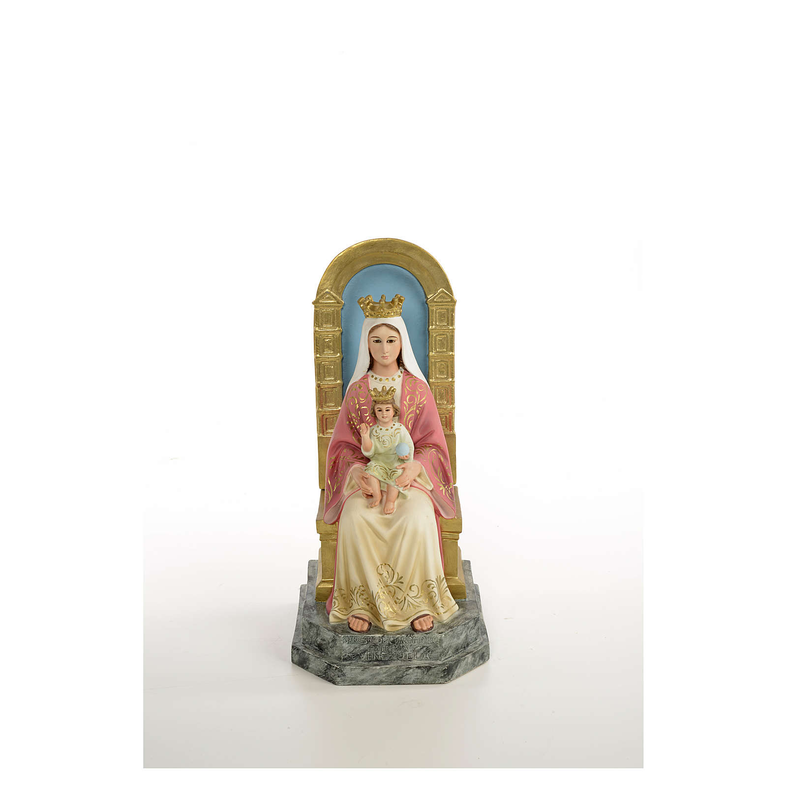 Madonna 10 cm presepe napoletano 4