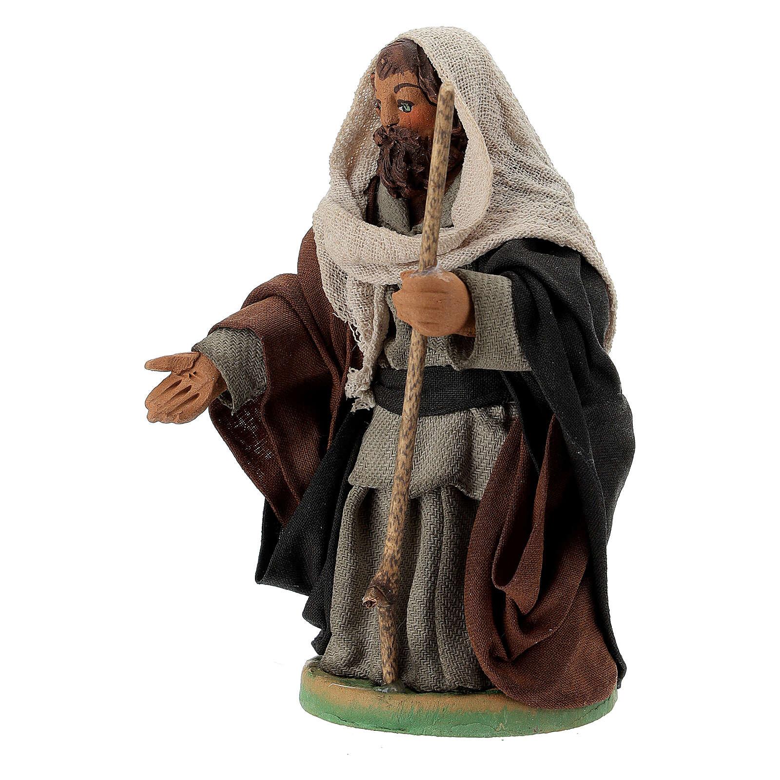 Sankt Joseph neapolitanische Krippe 10 cm 4