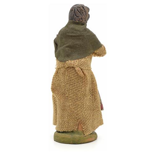 Mujer al balcón 10cm pesebre Nápoles 2