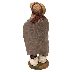 Neapolitan Nativity figurine, man on the balcony , 10 cm s4