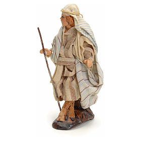 Neapolitan Nativity figurine, traveller, 8 cm s2