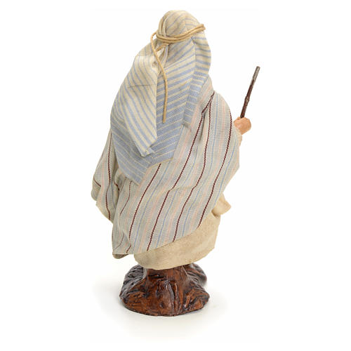 Neapolitan Nativity figurine, traveller, 8 cm 3
