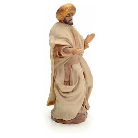Neapolitan nativity figurine, Arabian man walking, 8cm s2