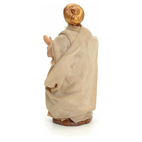 Neapolitan nativity figurine, Arabian man walking, 8cm 3