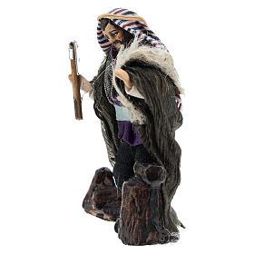 Neapolitan Nativity figurine, woodcutter, 8 cm s2