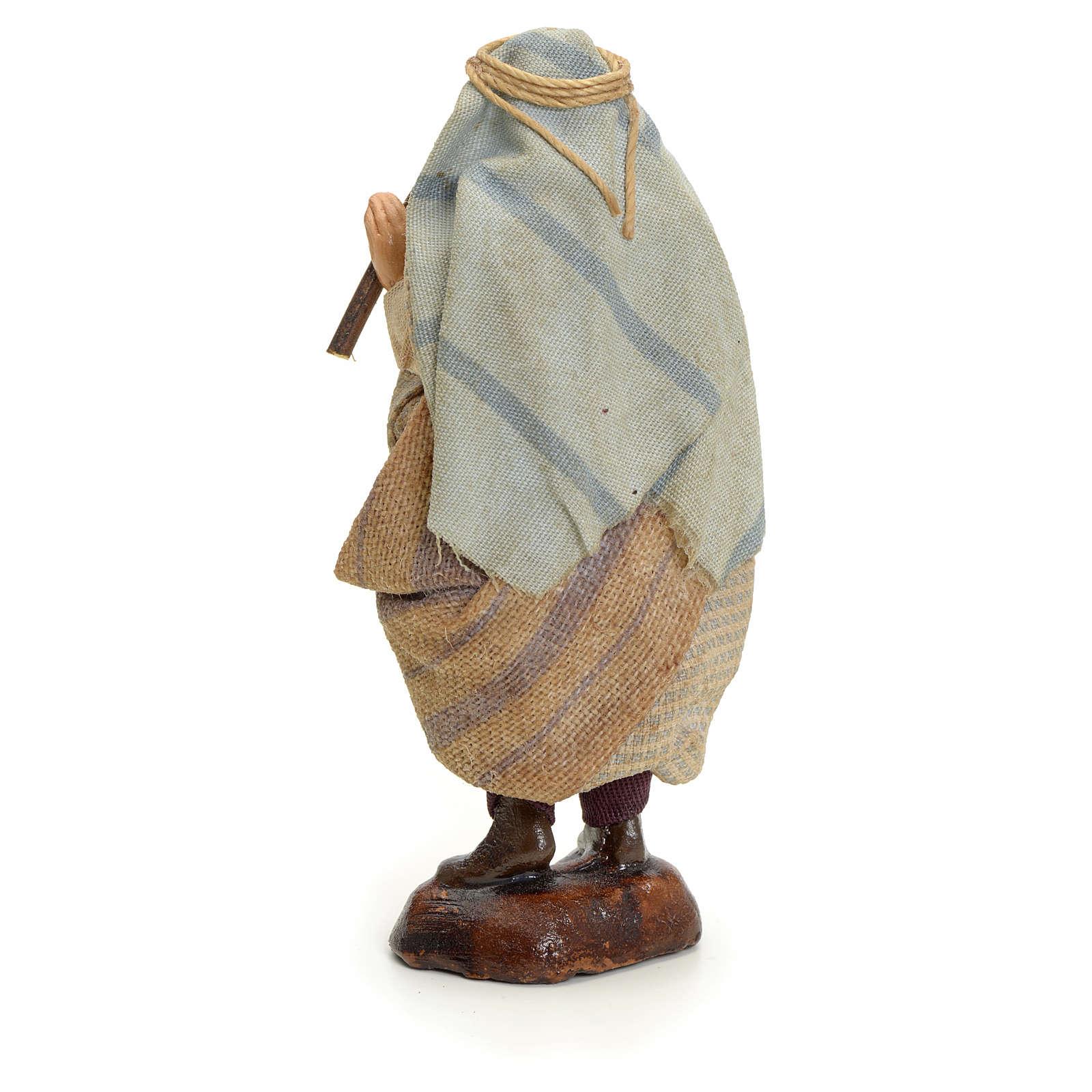 Neapolitan Nativity figurine, Arabian piper, 8 cm 4