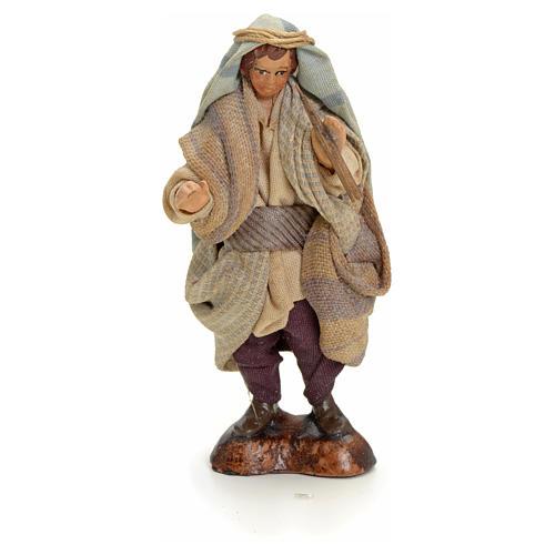 Neapolitan Nativity figurine, Arabian piper, 8 cm 1