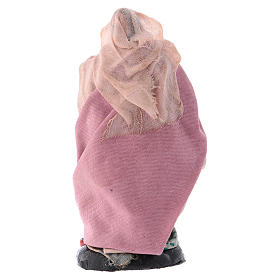Porteuse de laine crèche Napolitaine 8 cm s2