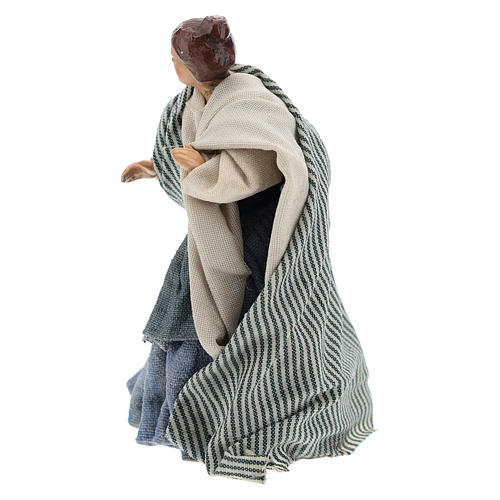 Neapolitan nativity figurine, Arabian buyer, 8cm 2