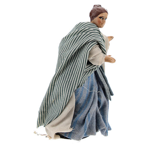Neapolitan nativity figurine, Arabian buyer, 8cm 3