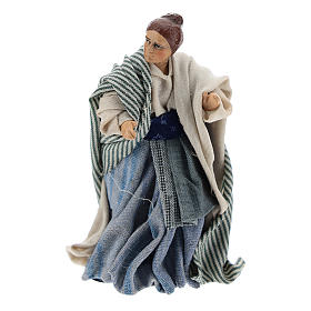 Femme arabe crèche Napolitaine 8 cm s1