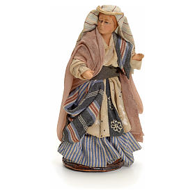 Neapolitan nativity figurine, Arabian buyer, 8cm s1