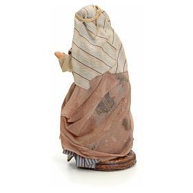 Neapolitan nativity figurine, Arabian buyer, 8cm s3