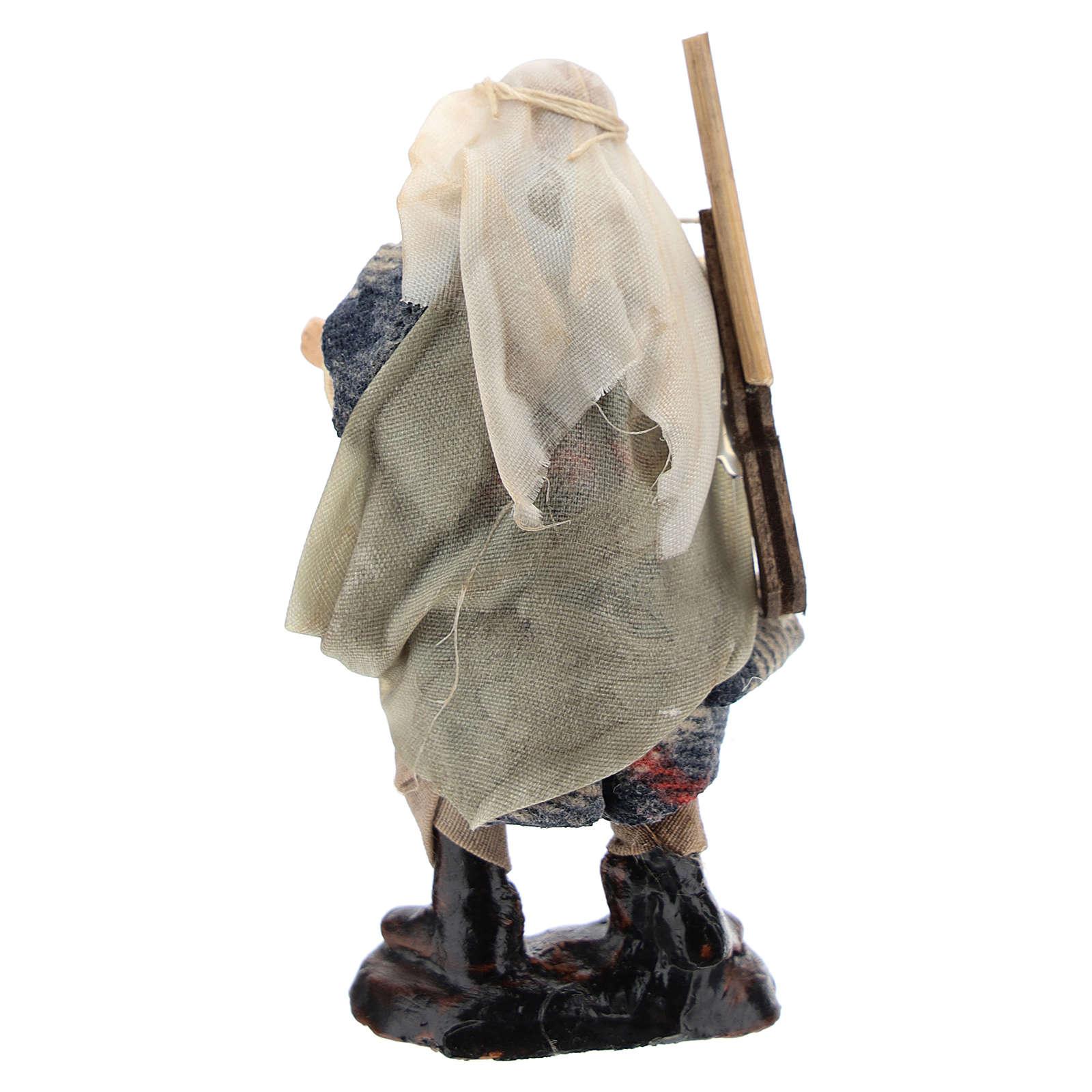 Neapolitan Nativity figurine, hunter, 8 cm 4