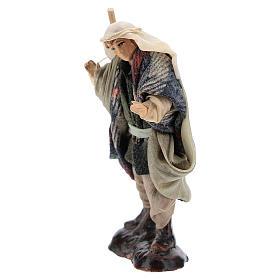 Neapolitan Nativity figurine, hunter, 8 cm s2