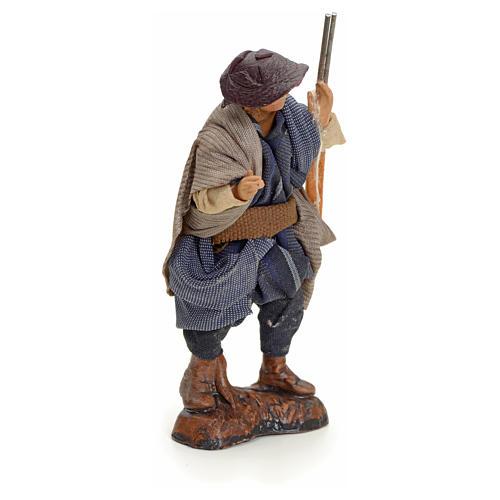 Neapolitan Nativity figurine, hunter, 8 cm 2