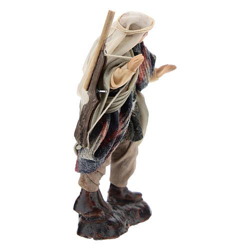 Neapolitan Nativity figurine, hunter, 8 cm 3